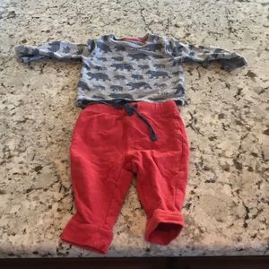 Baby Boys 3-6m Winter Outfit